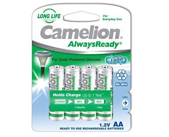 48 x Camelion AA HR6 NiMH Mignon 600mAh Akku Blister Always Ready Solar 17406406