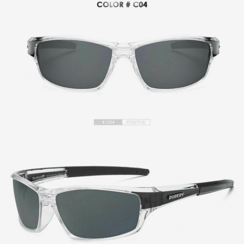 DUBERY Men/'s Polarized Sunglasses Outdoor Riding Fishing Goggles Glasses New