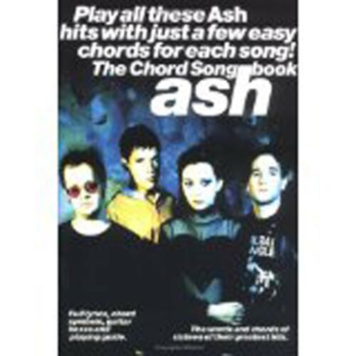 1 of 1 - Ash The Chord Songbook Guitar Book A Few Easy Chords for 16 Greatest Hits S157