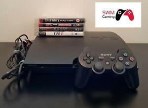 Sony PlayStation 3 Slim Consola. 1 DUELSHOCK 3 controlador y 4 Juegos Call Of Duty