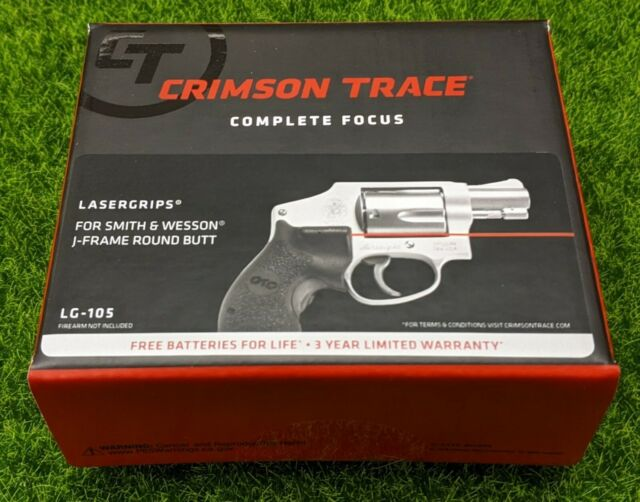 LG-185 Crimson Trace Red Lasergrips For Taurus Small Frame Revolvers