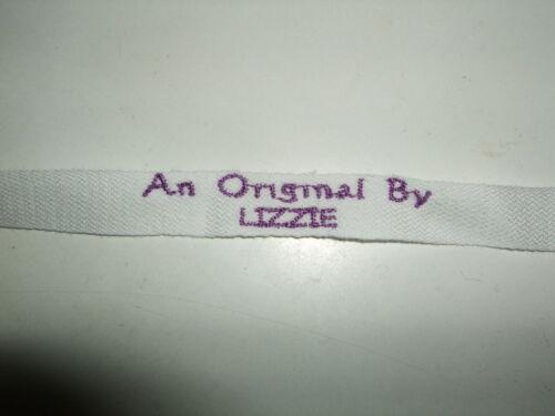 """2 X /""""original par votre nom/"""" brodé personnalisé étiquettes Sew Sur Les Balises 2.4 cm"""