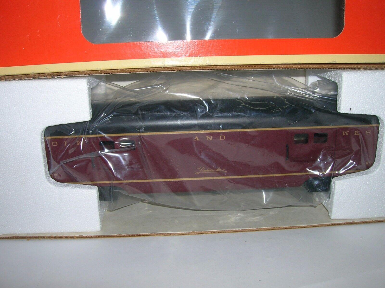 Lionel  N&W Alumunum 15  BAGGAGE Pass. Car   LNIB 6-19139 Lot   10769