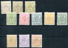 LUXEMBURG 1882 45-51,53-56 ** POSTFRISCH (D4967