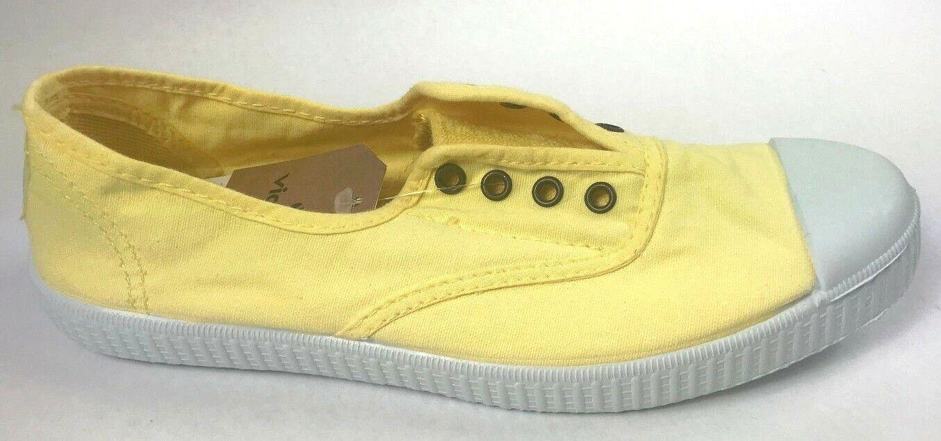 NEW Victoria Footwear Inglesa Elastico. color Vainilla. Made in Spain