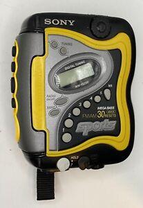 Vintage Sony Walkman WM-FS220 Sports AM/FM Portable Stereo Cassette Player EUC