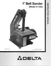 Brilliant Delta 31 050 Belt Sander For Sale Online Ebay Gmtry Best Dining Table And Chair Ideas Images Gmtryco