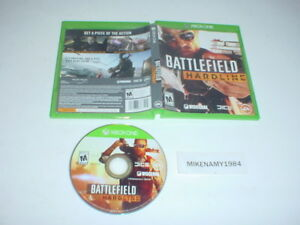 BATTLEFIELD HARDLINE game in case for Microsoft XBOX ONE