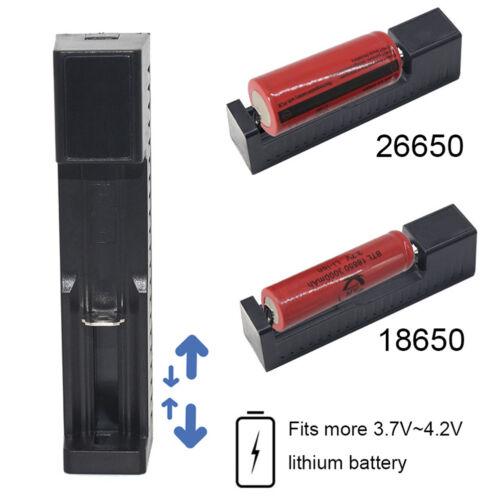 USB Port Universal Battery Charger For 3.7V 18650 26650 14500 Li-ion Battery BWH