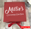 PERSONALISED-CHRISTMAS-EVE-GIFT-BOX-NAME-Xmas-Present-Custom-Santa-Sticker-Decal thumbnail 1