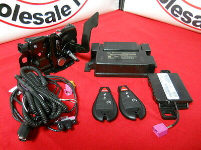 DODGE RAM 2013 1500 2500 Factory remote start kit with 2 new keys NEW OEM MOPAR