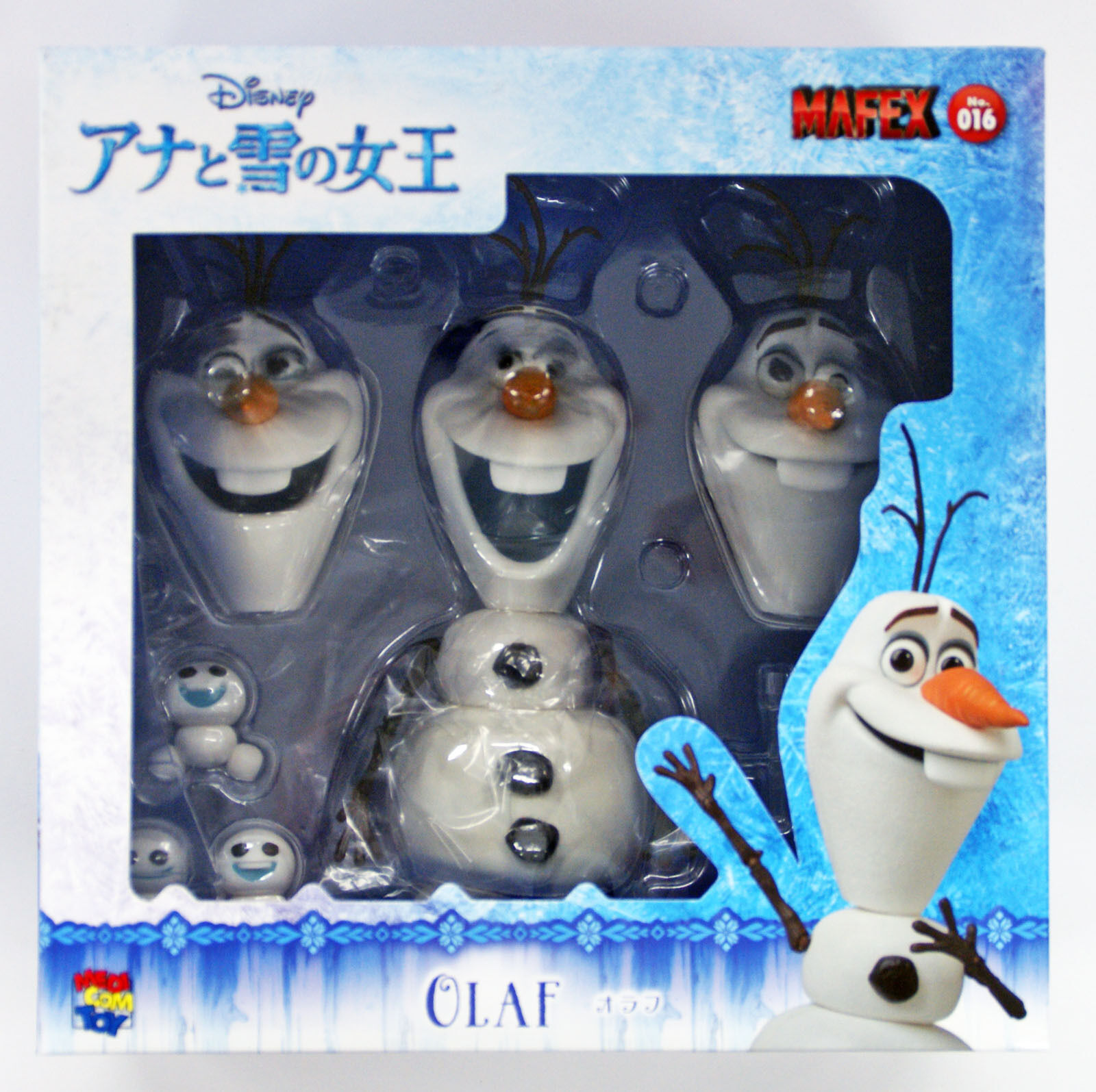 Medicom MAFEX 026 Olaf and Snowgies from Frozen Figure 4530956470269