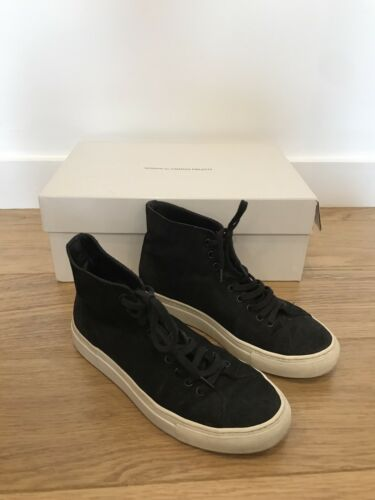 Projects 3 Trainers Top Tournament Women's High Uk Common Waxed In Black Suede fpW5x