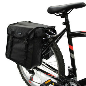 Waterproof Bicycle Rear Rack Pannier Top Bag Bike Cycle Commuter Storage Pouch