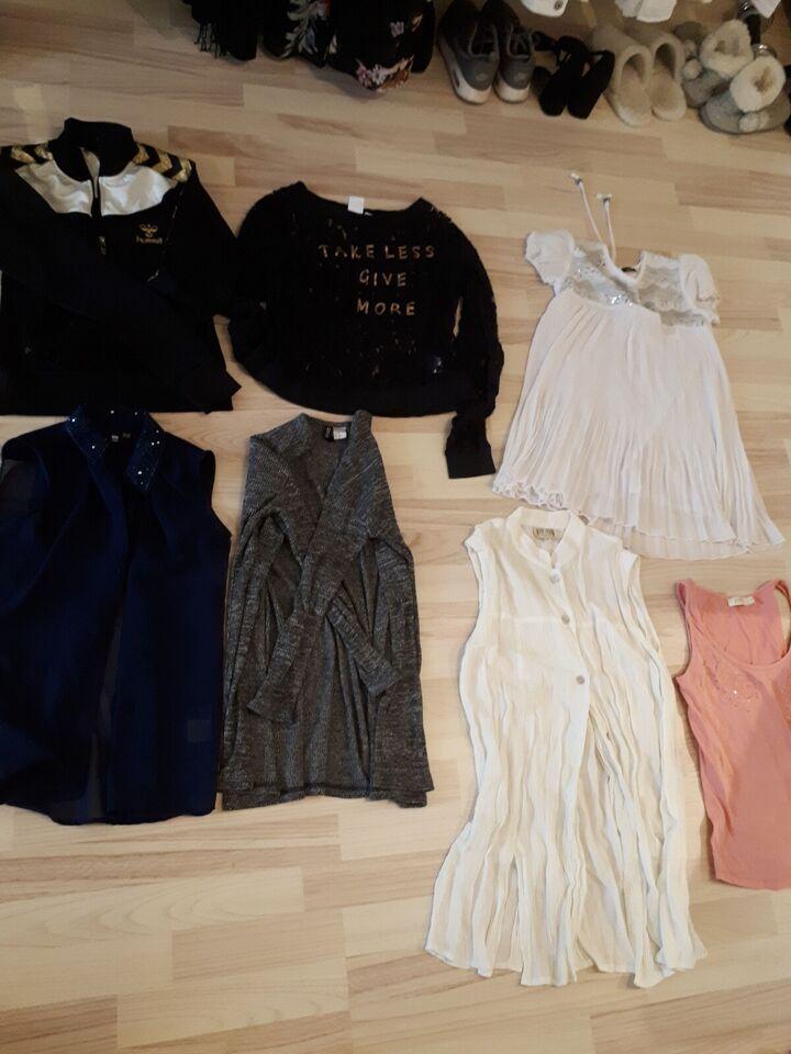 Blandet tøj, Forskelligt tøj jakker bluser kjoler