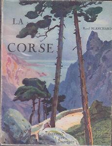 C1 Blanchard La Corse Rey 1926 Illustre Epuise Lucien Peri