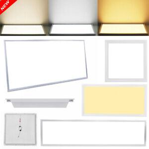 30x30 60x30 60x60 120x30 120x60cm Slim LED Panel Deckenleuchte Einbauleuchte