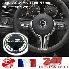 Logo AC SCHNITZER 45 mm pour Volant BMW steering wheel badge emblem stickerLogo
