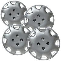 4pc Hub Cap Abs Silver 15 Inch Rim Wheel Skin Replica Cover Honda Accord 98-02 on sale