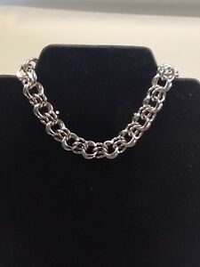 7-1-2-034-Sterling-Silver-Bracelet-Makers-Mark-034-M-034-in-Circle