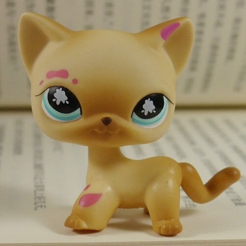 Buy Muddy Brown Littlest Pet Shop Cat Gift For Kids Lps Action