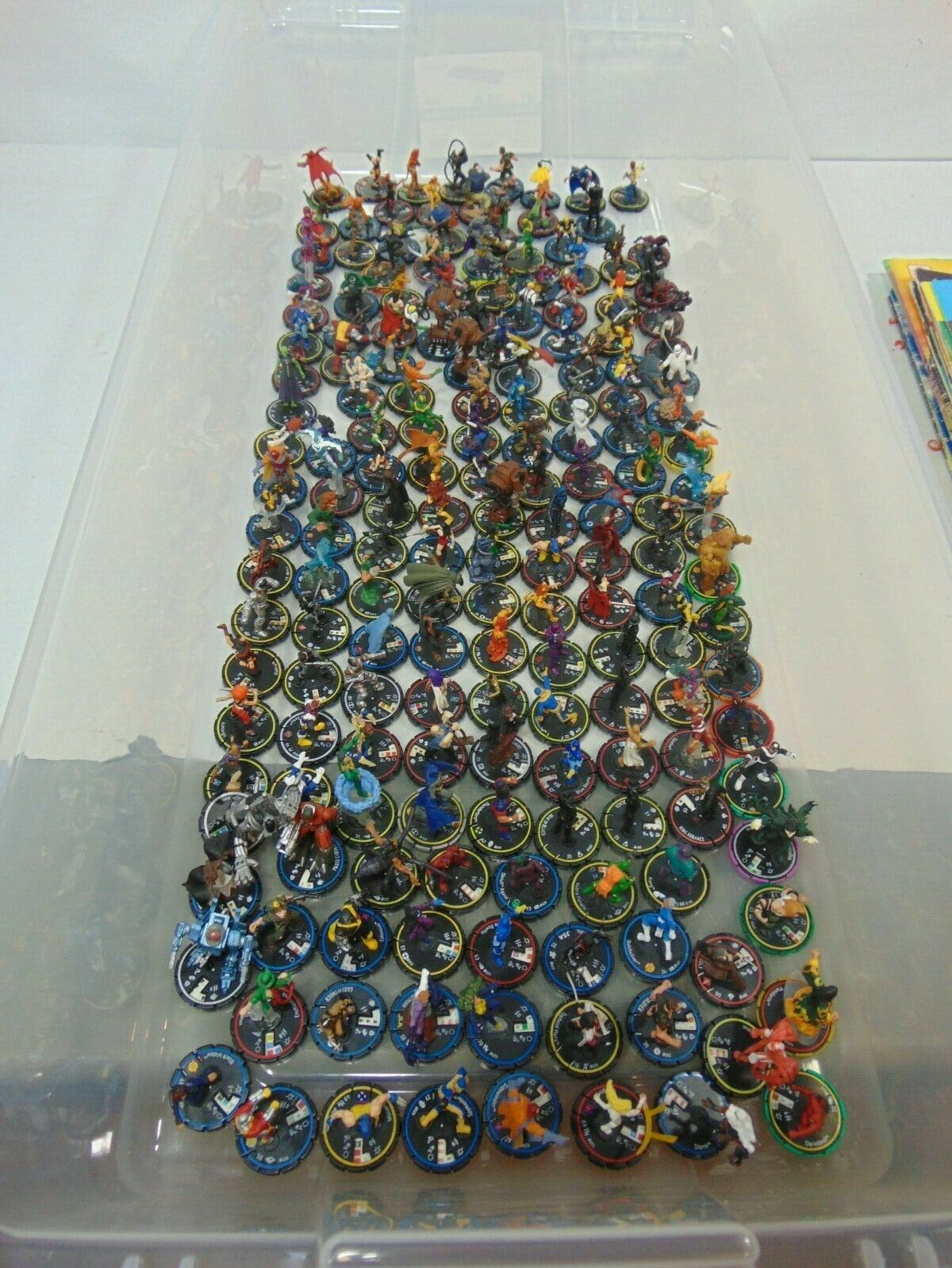 Huge Heroclix Lot Only Figures See Pictures