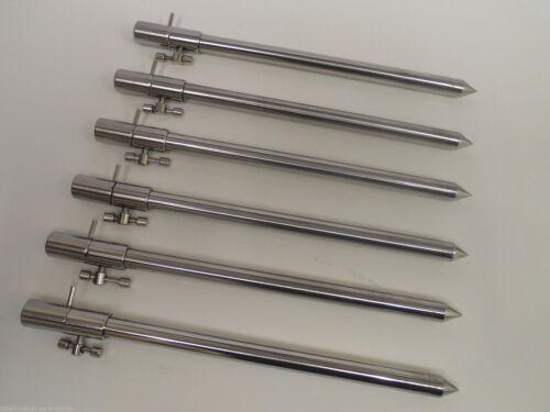 TMC en acier inoxydable mat. 15-25, 25-45, 30-50, 50-90 cm diamètre 12 mm