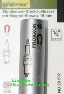 PROXXON-23392-Zuendkerzen-Nuss-mit-Magnet-16mm-1-2-034-NEU