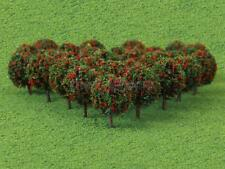 50pcs 35mm N Z GAUGE SCALE FLOWER FRUIT TREES SHRUBS