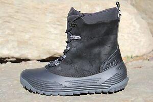 $130 New Mens Teva Highline Black Winter Waterproof Snow Boots Shoes SZ 11
