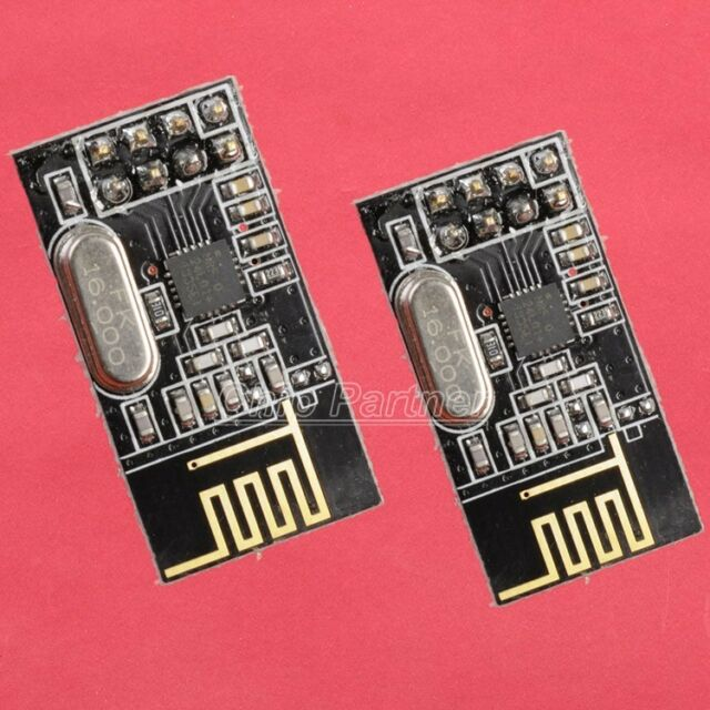 2pcs NRF24L01+ 2.4GHz Antenna Wireless Transceiver Module For Microcontrol
