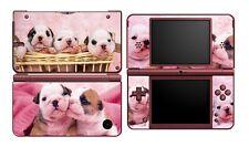 Cute Dogs 369 Vinyl Decal Skin Sticker for Nintendo DSi NDSi XL LL