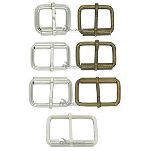 19mm 25mm 32mm 38mm 50mm Single Prong Roller Buckle Belt Strap Webbing Leather J