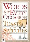 Words for All Occasions: Toasts and Speeches Counterpack 24 2 by Hinkler Books (Paperback, 2013)