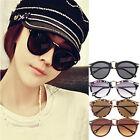Women's Mens Sunglasses Arrow Style Eyewear Round Sunglasses Metal Frame
