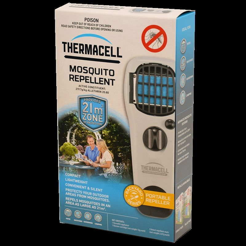 THERMACELL MOSQUITO REPELLER - Mozzie  Sandflies Midges Insect Repellent  save up to 70% discount