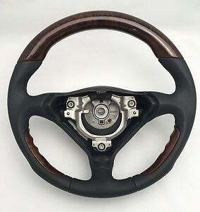 porsche carrera 911 996 986 classic dark wood steering. Black Bedroom Furniture Sets. Home Design Ideas