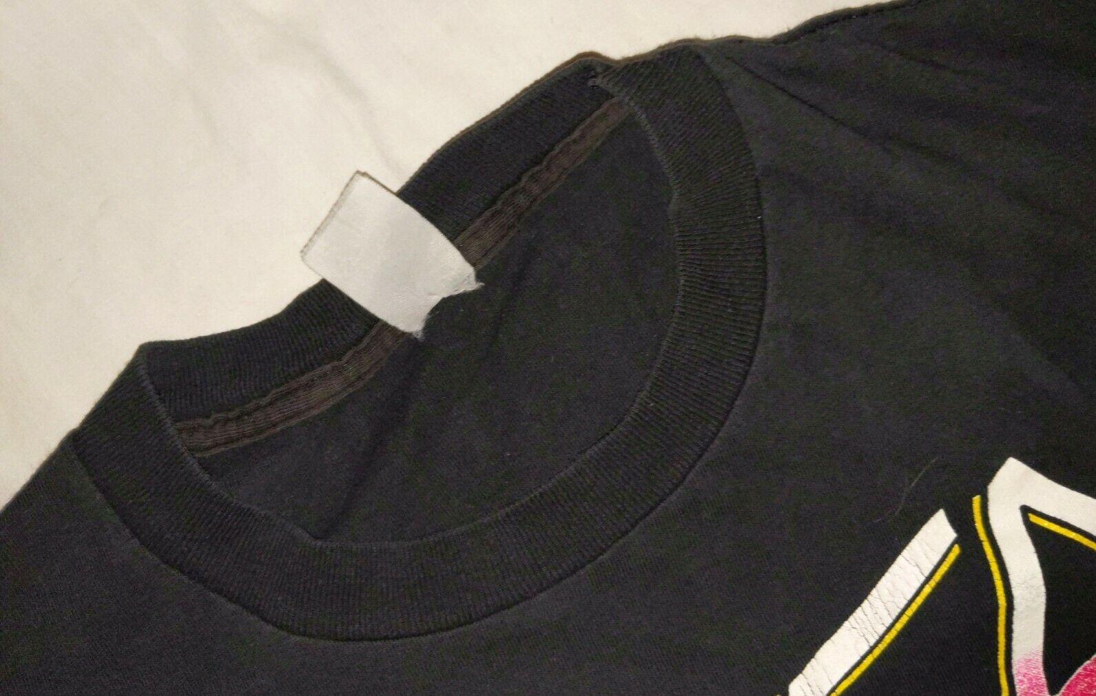 SLAYER XL 1991 Clash of The Titans Vintage T Shir… - image 9