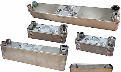 New Plate heat exchanger Stainless Plate Wort Chiller 30 plates Brewing Chille