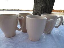 set of 4 The Cellar  Corso Ivory  14 oz. Coffee Mugs