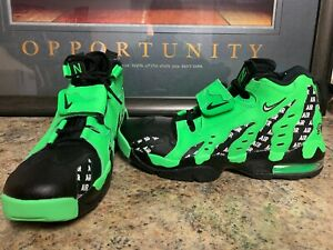 Details about Nike Air DT Max '96 SOA SZ 10 Rage Green Black White AQ5100 300 New