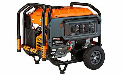 Generac 6433 - XT8000E 8,000 Watt Electric Start Portable Generator, 49 ST/CSA