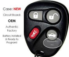 01 Cadilac Catara 25665574 #1 keyless entry remote transmitter FOB Fab key ONE