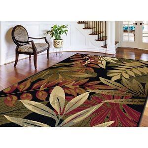 Indoor Outdoor Rug 5 X 7 Tropical Print Carpet Porch