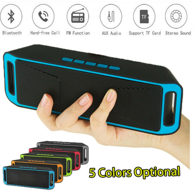 Portable Wireless Wooden Bluetooth Speaker Support FM Radio AUX TFCard MP3Player