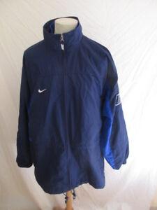 Détails sur Veste de survêtement vintage des années 90 Nike Bleu Taille XL