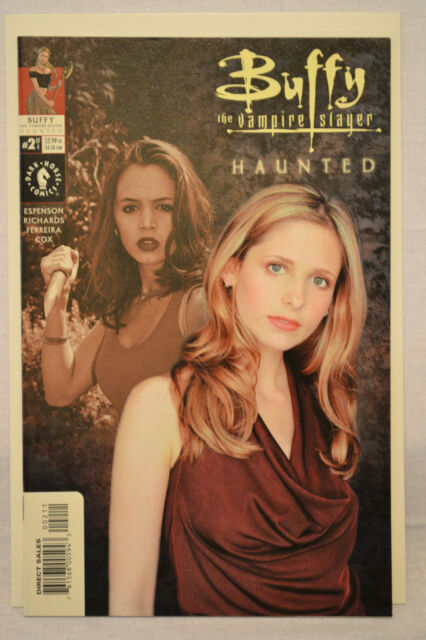 Buffy The Vampire Slayer Haunted issue 2 Photo Cover Dark Horse Comics Faith