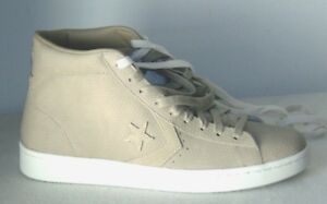 cafc43d05ae  80 Men s Converse One Star Pro Leather 76 Mid Sneaker Vintage Khaki ...
