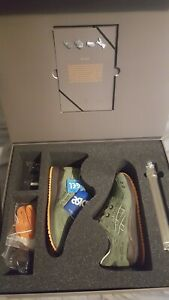 newest f0a1f 5c52d Details about Ronnie Fieg x Asics Made in Japan Gel-Lyte III -  Militia/Olive/Mossad Size 6 UK