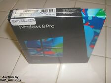 Microsoft Windows 8 Professional Full/Upgrade 32Bit & 64Bit DVD MS WIN PRO =NEW=
